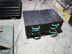 HDPE Plastic Outrigger Pads /Black Crane Supporting Plate for Truck Crane pictures & photos