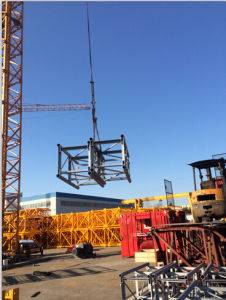 Building Hoist Mast Section with CE and ISO9001: 2008 pictures & photos