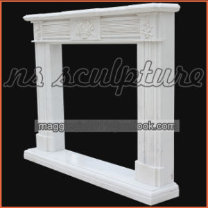 Cheap Beauty White Regency Fireplace Mantel Mf1712 pictures & photos