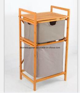 B9006 Bamboo Weaving Storage Shelf Storage Rack Drawing Shelf