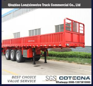 50-80 Tons Utility Trailer Cargo Trailer Semi Trailer pictures & photos