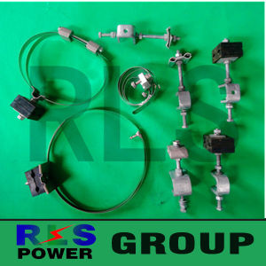 Down Lead Clamp /Electric Power Fitting ADSS/Opgw Down Lead Clamp for Pole/Tower