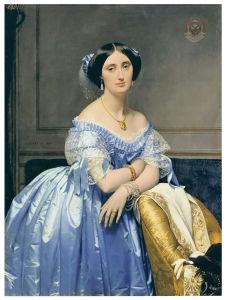 Famous Artists Oil Painting, Art Painting, Masterpiece Oil Painting, Pauline Princesse Albert De Broglie (1853 years) -Jean-Auguste-Dominique Ingres pictures & photos