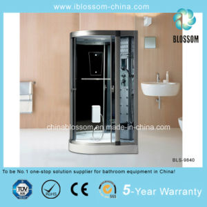Indoor Sector Glass Steam Massage Complete Shower Room/Cabin (BLS-9840) pictures & photos