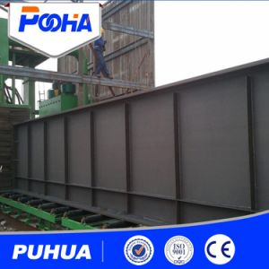 Industrial Automatic Roller Conveyor Shot Blasting Machine for Tower Crane pictures & photos
