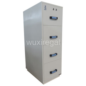 Fire Resistant Filing Cabinet, 4 Drawers Office Furniture (UL750FRD-II-4002) pictures & photos