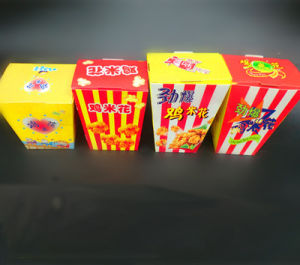 Quality Popcorn Box Folding Gluing Machine (GK-650CA) pictures & photos