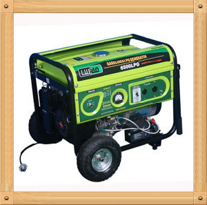 3000W Silent Small LPG and Gasoline Generator for Sale