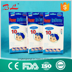 Fever Cooling Gel Patch for Children, Adult Temperature Keep 8 Hours pictures & photos