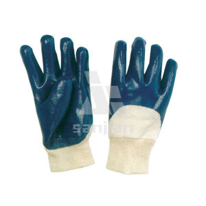 Heavy Duty Nitrile Coated Jersey Lining Gloves pictures & photos
