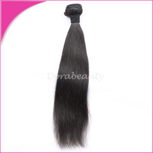 Natural Color Peruvian Straight Virgin Hair Extensions pictures & photos