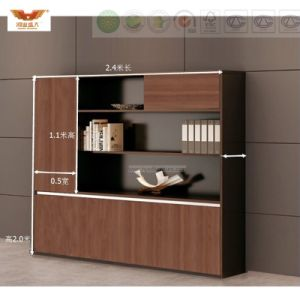 FSC Forest Certified Approved by SGS Metal Structure Office Furniture 1.8m L Shape Executive Office Desk pictures & photos