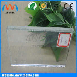 Ultra Clear Shopwindow Showcase Low Iron Tempered Safety Glass pictures & photos