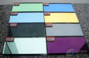 Colored Patterned Mirror/Colored Design Mirror pictures & photos