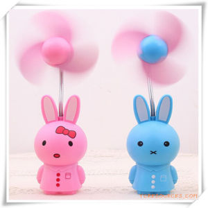 Mini Rabbit Shaped Rechargeable Desktop Fan for Promotional Gift/Promotion pictures & photos