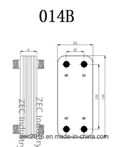 Flat Plate Heat Exchanger with Ce B3-014b pictures & photos
