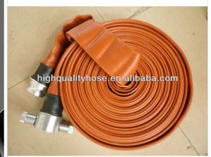 Double Layer Three Layer Water Rubber Layflat Hose pictures & photos
