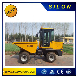 Silon Brand 3t Site Dumper on Hot Sales (SLD30) pictures & photos