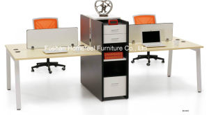 High Quality Double Side Office Workstation with Fixed Pedestal (HF-BSD023) pictures & photos