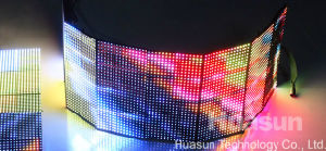 P6 High Resolution Lightweight Full Color Flex LED Display pictures & photos