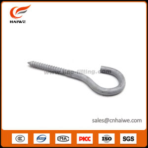 Hot-DIP Galvanized Steel Screw Eye Hooks for Pole Line Hardware pictures & photos