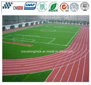 High Quality Synthetic Running Track for Sports Court pictures & photos