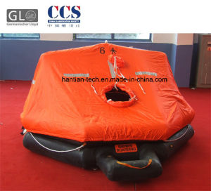 6 Man Inflatable Boat Approved by CCS and Ec pictures & photos