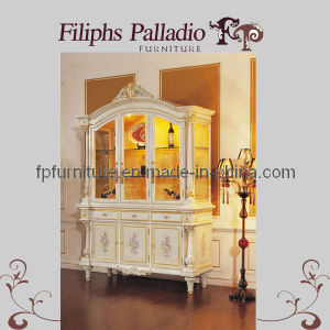 Luxury French Dining Furnitures Set- Antique Style Cabinet (0506)