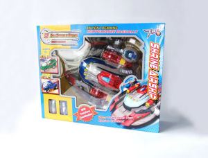 Shrine Airship Transforming Robot Toys