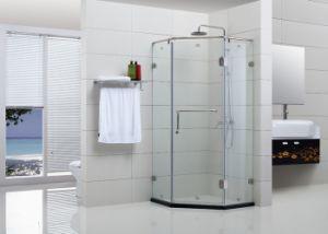 Frameless Hinge Pentagon Shower Enclosure (WLX-001)