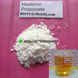 Healthy Medical Muscle Buildup Steroid Powder Drostanolone Propionate Masteron pictures & photos