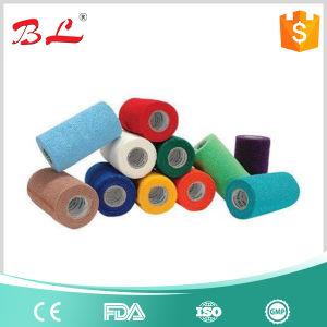 Latex Free Cohesive Flexible Bandage, Elastic Wrap Bandage Tape, Non Woven Finger Bandage pictures & photos