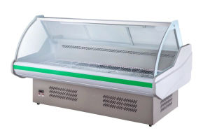 2.5m Meat Showcase Chiller for Food Service pictures & photos