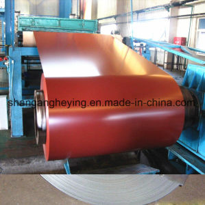 Pre-Painted Galvanized Steel/PPGI Steel Coil Ral9003 Steel for Outside Body of Refrigerator pictures & photos