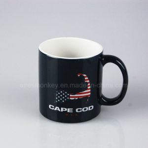 Custom Cheap Porcelain Tea Coffee Cup Ceramic Mug with Printing Logo pictures & photos