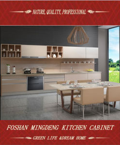 Bespoke Melamine Kitchen Cabinet (ZS-396) pictures & photos
