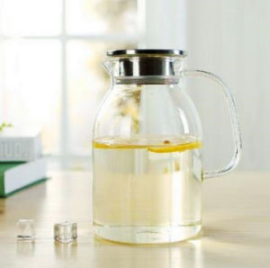 Northern Europe Style Borosilicate Glass Water Jug pictures & photos