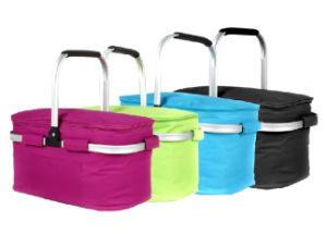 Aluminum Alloy Handle Insulated Cooler Basket (MS3120) pictures & photos
