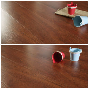 German Technology Laminate Ce HDF Hand-Scraped Waterproof Laminate Flooring pictures & photos