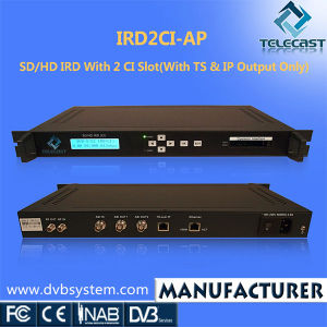 SD/HD IRD with 2 Ci Slots (IRD2CI-AP)