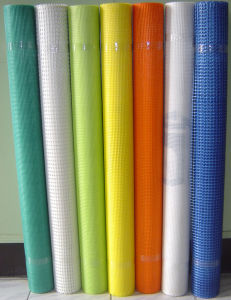 Coated Alkali-Resistant Fiberglass Mesh Cloth 42G/M2 pictures & photos