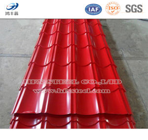 Colored Corrugated Plate for Steel Roofing Sheet pictures & photos