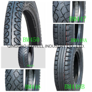 Bywell Motorcycle Tires with Best Quality and Competitive Price (TVS and DUNLOP technology) pictures & photos