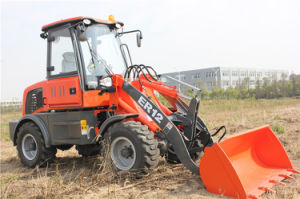Everun Brand CE Approval 1.2 Ton Small Wheel Loader pictures & photos