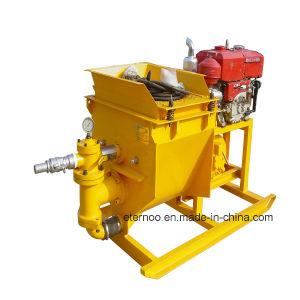 Diesel Engine 40 Bar Pressure Sand Mortar Spraying Machine pictures & photos