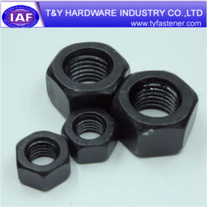 Standard Size Black and Zinc Plated DIN934 Hex Nut pictures & photos