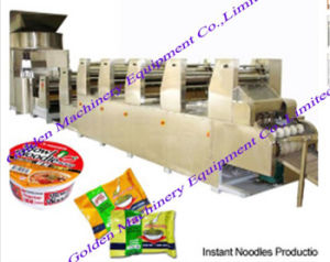 Fried Instant Round and Square Noodle Making Machine pictures & photos