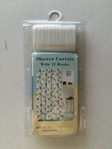 Multicolor Plastic Waterproof Shower Curtain pictures & photos