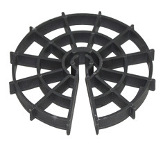 Concrete Plastic Rebar Wheel Spacers pictures & photos