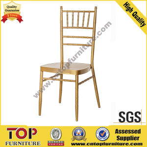 Hotel Metal Stackable Wedding Banquet Chiavari Chair pictures & photos
